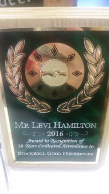 Hamilton award